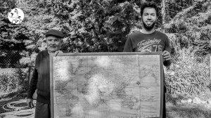 Michel, Andrés et le planisphère