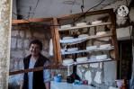 La femme aux fromages, à Ljubovo