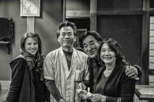 A droite : Tetsuya et Yasuko